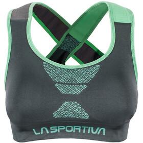La Sportiva W's Focus Top Slate/Jade Green
